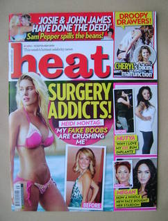 <!--2010-09-04-->Heat magazine - Heidi Montag cover (4-10 September 2010 -