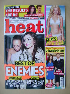 <!--2010-11-27-->Heat magazine - Rebecca Ferguson and Cher Lloyd cover (27