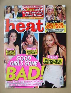<!--2010-09-11-->Heat magazine - Good Girls Gone Bad! cover (11-17 Septembe