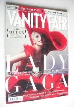 Vanity Fair magazine - Lady Gaga cover (January 2012)