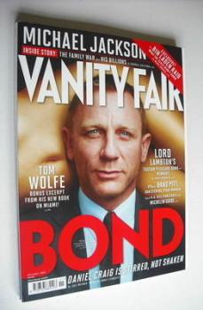 Vanity Fair magazine - Daniel Craig cover (November 2012)