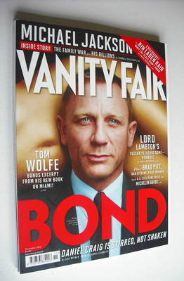 <!--2012-11-->Vanity Fair magazine - Daniel Craig cover (November 2012)
