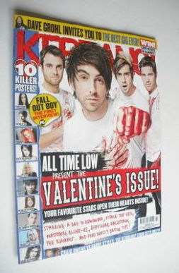 <!--2013-02-16-->Kerrang magazine - All Time Low cover (16 February 2013 -