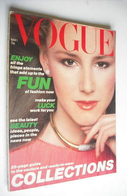 <!--1978-03-01-->British Vogue magazine - 1 March 1978 (Vintage Issue)