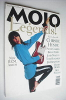 <!--1994-10-->MOJO Legends magazine - Chrissie Hynde cover (October 1994 - Issue 11)