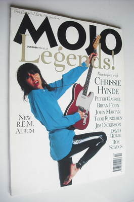 <!--1994-10-->MOJO Legends magazine - Chrissie Hynde cover (October 1994 -