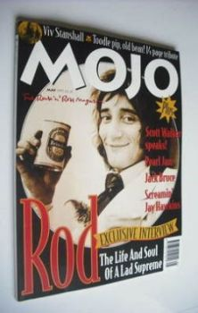 MOJO magazine - Rod Stewart cover (May 1995 - Issue 18)