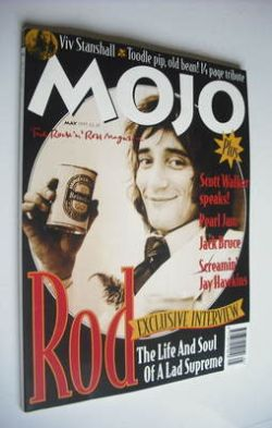 <!--1995-05-->MOJO magazine - Rod Stewart cover (May 1995 - Issue 18)