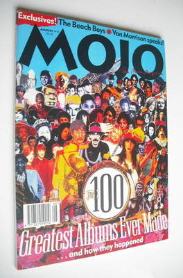<!--1995-08-->MOJO magazine - The 100 Greatest Albums Ever Made cover (Augu