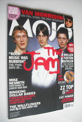 <!--2012-11-->MOJO magazine - The Jam cover (November 2012 - Issue 228)
