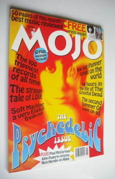 MOJO magazine - The Psychedelic Issue (June 1997 - Issue 43)