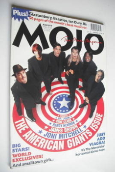 MOJO magazine - The American Giants Issue cover (August 1998 - Issue 57)