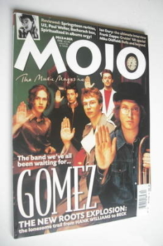 MOJO magazine - Gomez cover (December 1998 - Issue 61)
