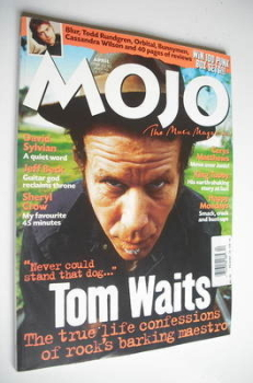 MOJO magazine - Tom Waits cover (April 1999 - Issue 65)