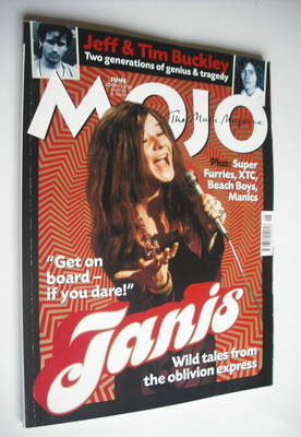 <!--2000-06-->MOJO magazine - Janis Joplin cover (June 2000 - Issue 79)