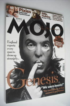 MOJO magazine - Genesis cover (March 2001 - Issue 88)