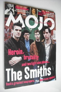 MOJO magazine - The Smiths cover (April 2001 - Issue 89)