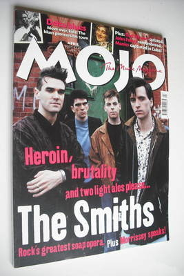 <!--2001-04-->MOJO magazine - The Smiths cover (April 2001 - Issue 89)
