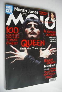 MOJO magazine - Freddie Mercury cover (April 2004 - Issue 125)