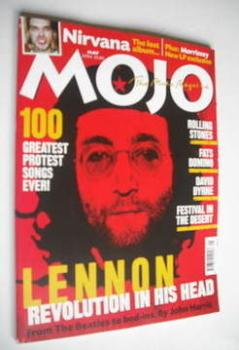 MOJO magazine - John Lennon cover (May 2004 - Issue 126)