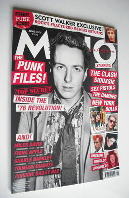 <!--2006-06-->MOJO magazine - Joe Strummer cover (June 2006 - Issue 151)
