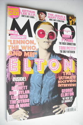 <!--2006-10-->MOJO magazine - Elton John cover (October 2006 - Issue 155)