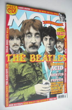 MOJO magazine - The Beatles cover (March 2007 - Issue 160)