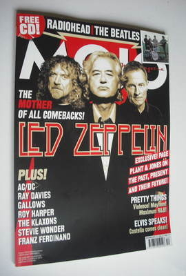 <!--2007-12-->MOJO magazine - Led Zeppelin cover (December 2007 - Issue 169