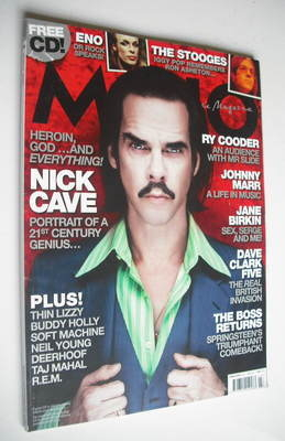 <!--2009-03-->MOJO magazine - Nick Cave cover (March 2009 - Issue 184)