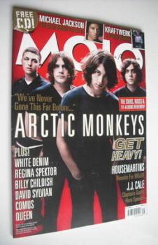 MOJO magazine - The Arctic Monkeys cover (September 2009 - Issue 190)