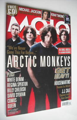 <!--2009-09-->MOJO magazine - The Arctic Monkeys cover (September 2009 - Is