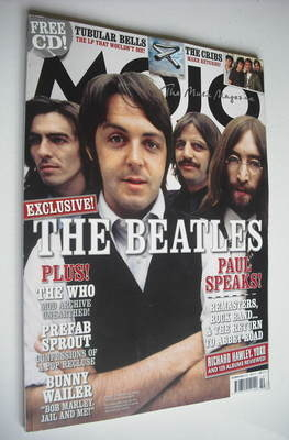 <!--2009-10-->MOJO magazine - The Beatles cover (October 2009 - Issue 191)