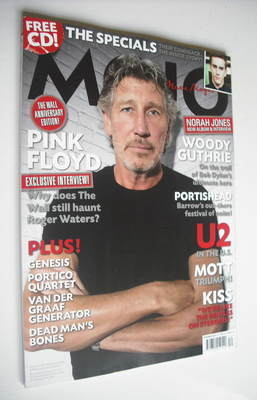 <!--2009-12-->MOJO magazine - Roger Waters cover (December 2009 - Issue 193