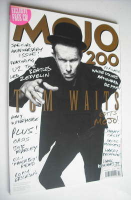 <!--2010-07-->MOJO magazine - Tom Waits cover (July 2010 - Issue 200)