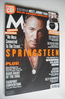 MOJO magazine - Bruce Springsteen cover (August 2010 - Issue 201)
