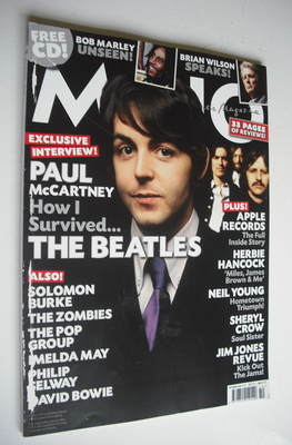 <!--2010-10-->MOJO magazine - The Beatles cover (October 2010 - Issue 203)