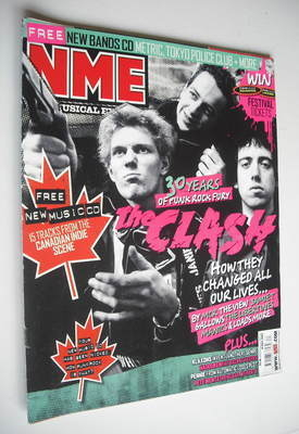 <!--2007-05-19-->NME magazine - The Clash cover (19 May 2007)