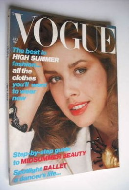 <!--1979-07-->British Vogue magazine - July 1979 (Vintage Issue)