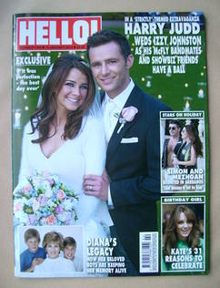 <!--2013-01-14-->Hello! magazine - Harry Judd and Izzy Johnston cover (14 J