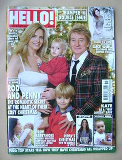 <!--2012-12-31-->Hello! magazine - Penny Lancaster and Rod Stewart cover (3