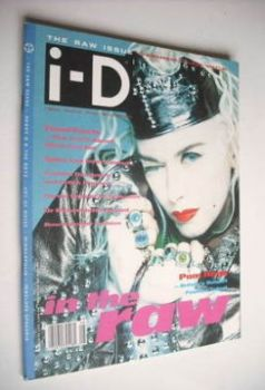 i-D magazine - Pam Hogg cover (August 1989 - Issue 72)