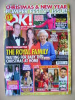 <!--2013-01-01-->OK! magazine - The Royal Family cover (1 January 2013 - Issue 859)