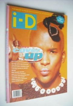 i-D magazine - Kathleen cover (March 1989 - Issue 67)