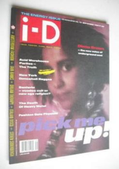 i-D magazine - Diana Brown cover (September 1989 - Issue 73)