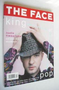 The Face magazine - Justin Timberlake cover (April 2003 - Volume 3 No. 75)