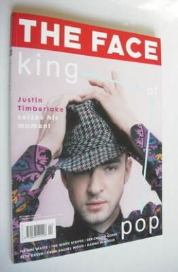 <!--2003-04-->The Face magazine - Justin Timberlake cover (April 2003 - Vol