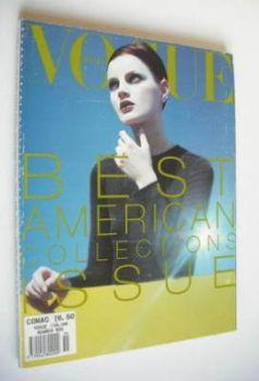 <!--1996-11-->Vogue Italia magazine - November 1996 - Guinevere Van Seenus cover