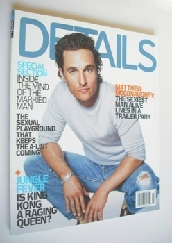 <!--2006-01-->Details magazine - January/February 2006 - Matthew McConaughey cover