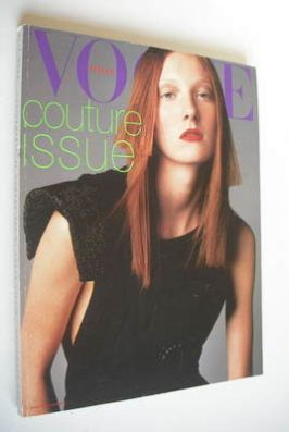 <!--1997-09-->Vogue Italia magazine - September 1997 - Maggie Rizer cover