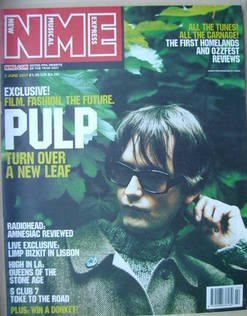 <!--2001-06-02-->NME magazine - Jarvis Cocker cover (2 June 2001)